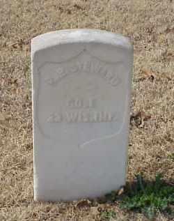 STEWARD (VETERAN UNION), B R - Pulaski County, Arkansas | B R STEWARD (VETERAN UNION) - Arkansas Gravestone Photos