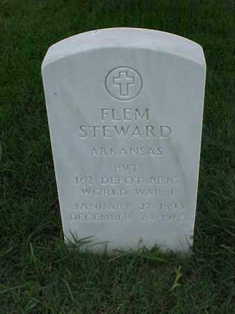STEWARD (VETERAN WWI), FLEM - Pulaski County, Arkansas | FLEM STEWARD (VETERAN WWI) - Arkansas Gravestone Photos