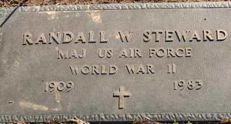 STEWARD (VETERAN WWII), RANDALL W - Pulaski County, Arkansas | RANDALL W STEWARD (VETERAN WWII) - Arkansas Gravestone Photos