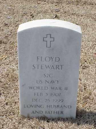STEWART  (VETERAN WWII), FLOYD - Pulaski County, Arkansas | FLOYD STEWART  (VETERAN WWII) - Arkansas Gravestone Photos