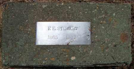 STEWART, F.E. - Pulaski County, Arkansas | F.E. STEWART - Arkansas Gravestone Photos