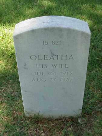 STEWART, OLEATHA - Pulaski County, Arkansas | OLEATHA STEWART - Arkansas Gravestone Photos