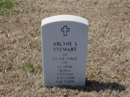 STEWART (VETERAN 2 WARS), ARCHIE L - Pulaski County, Arkansas | ARCHIE L STEWART (VETERAN 2 WARS) - Arkansas Gravestone Photos
