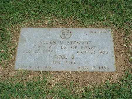 STEWART (VETERAN 2 WARS), ALLEN M - Pulaski County, Arkansas | ALLEN M STEWART (VETERAN 2 WARS) - Arkansas Gravestone Photos