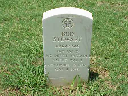 STEWART (VETERAN WWI), BUD - Pulaski County, Arkansas | BUD STEWART (VETERAN WWI) - Arkansas Gravestone Photos