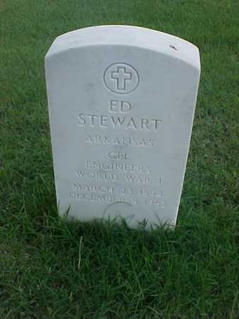 STEWART (VETERAN WWI), ED - Pulaski County, Arkansas | ED STEWART (VETERAN WWI) - Arkansas Gravestone Photos