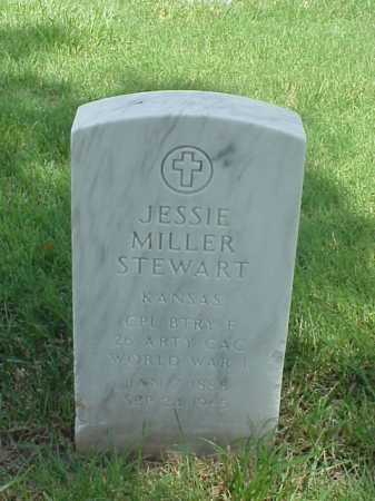 STEWART (VETERAN WWI), JESSIE MILLER - Pulaski County, Arkansas | JESSIE MILLER STEWART (VETERAN WWI) - Arkansas Gravestone Photos