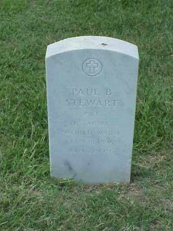 STEWART (VETERAN WWI), PAUL B - Pulaski County, Arkansas | PAUL B STEWART (VETERAN WWI) - Arkansas Gravestone Photos