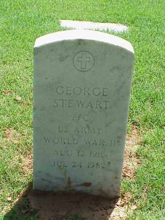 STEWART (VETERAN WWII), GEORGE - Pulaski County, Arkansas | GEORGE STEWART (VETERAN WWII) - Arkansas Gravestone Photos