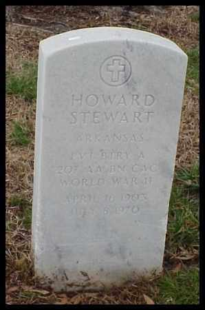 STEWART (VETERAN WWII), HOWARD - Pulaski County, Arkansas | HOWARD STEWART (VETERAN WWII) - Arkansas Gravestone Photos