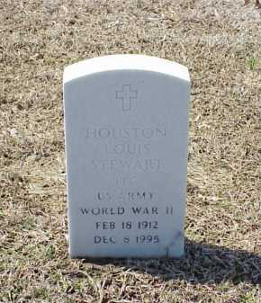 STEWART (VETERAN WWII), HOUSTON LOUIS - Pulaski County, Arkansas | HOUSTON LOUIS STEWART (VETERAN WWII) - Arkansas Gravestone Photos