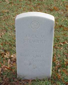 STEWART (VETERAN WWII), JACK M - Pulaski County, Arkansas | JACK M STEWART (VETERAN WWII) - Arkansas Gravestone Photos