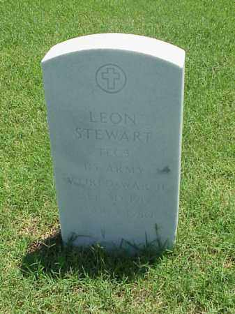 STEWART (VETERAN WWII), LEON - Pulaski County, Arkansas | LEON STEWART (VETERAN WWII) - Arkansas Gravestone Photos
