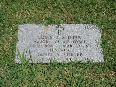 STIFTER (VETERAN 3 WARS), LOUIS JOSEPH - Pulaski County, Arkansas   LOUIS JOSEPH STIFTER (VETERAN 3 WARS) - Arkansas Gravestone Photos