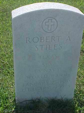 STILES (VETERAN WWI), ROBERT A - Pulaski County, Arkansas | ROBERT A STILES (VETERAN WWI) - Arkansas Gravestone Photos