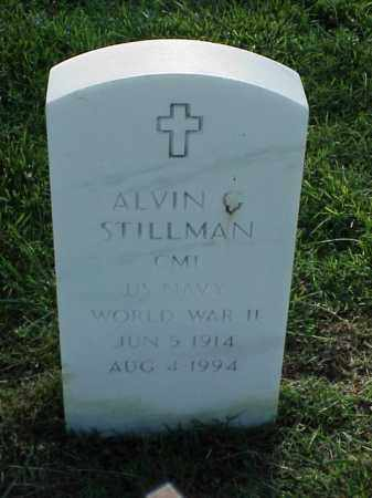 STILLMAN (VETERAN WWII), AVIN C - Pulaski County, Arkansas | AVIN C STILLMAN (VETERAN WWII) - Arkansas Gravestone Photos