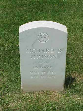 STIMSON (VETERAN WWII), RICHARD D - Pulaski County, Arkansas | RICHARD D STIMSON (VETERAN WWII) - Arkansas Gravestone Photos