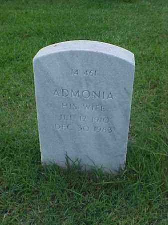 STINGER, ADMONIA - Pulaski County, Arkansas | ADMONIA STINGER - Arkansas Gravestone Photos