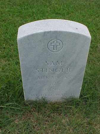 STINGER (VETERAN WWII), SAM - Pulaski County, Arkansas | SAM STINGER (VETERAN WWII) - Arkansas Gravestone Photos