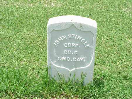 STINGLE (VETERAN UNION), JOHN - Pulaski County, Arkansas | JOHN STINGLE (VETERAN UNION) - Arkansas Gravestone Photos