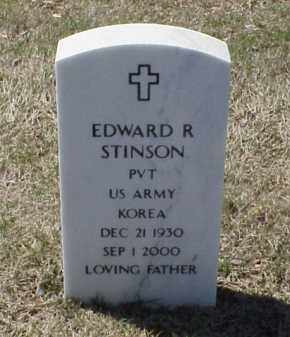 STINSON (VETERAN KOR), EDWARD R - Pulaski County, Arkansas | EDWARD R STINSON (VETERAN KOR) - Arkansas Gravestone Photos