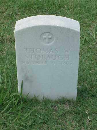 STOBAUGH (VETERAN UNION), THOMAS W - Pulaski County, Arkansas | THOMAS W STOBAUGH (VETERAN UNION) - Arkansas Gravestone Photos