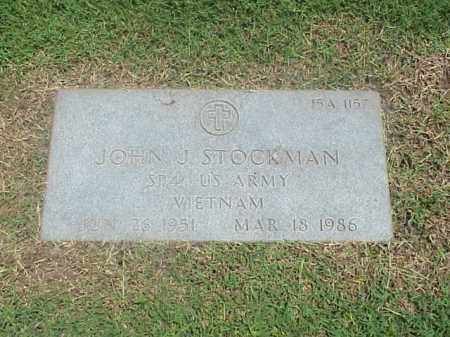 STOCKMAN (VETERAN VIET), JOHN J - Pulaski County, Arkansas | JOHN J STOCKMAN (VETERAN VIET) - Arkansas Gravestone Photos