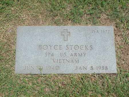 STOCKS (VETERAN VIET), BOYCE - Pulaski County, Arkansas | BOYCE STOCKS (VETERAN VIET) - Arkansas Gravestone Photos
