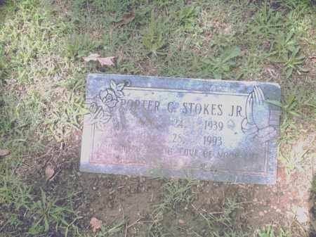 STOKES, JR., PORTER G - Pulaski County, Arkansas | PORTER G STOKES, JR. - Arkansas Gravestone Photos