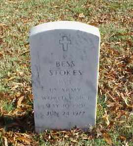 STOKES (VETERAN WWI)), BESS - Pulaski County, Arkansas | BESS STOKES (VETERAN WWI)) - Arkansas Gravestone Photos