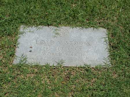 STOKES (VETERAN WWII), LOYD V - Pulaski County, Arkansas | LOYD V STOKES (VETERAN WWII) - Arkansas Gravestone Photos