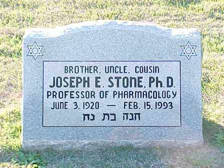 STONE, PHD, JOSEPH E - Pulaski County, Arkansas | JOSEPH E STONE, PHD - Arkansas Gravestone Photos
