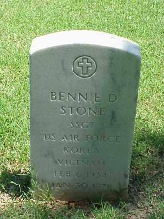 STONE (VETERAN 2 WARS), BENNIE D - Pulaski County, Arkansas | BENNIE D STONE (VETERAN 2 WARS) - Arkansas Gravestone Photos