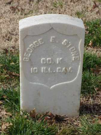 STONE (VETERAN UNION), GEORGE E - Pulaski County, Arkansas | GEORGE E STONE (VETERAN UNION) - Arkansas Gravestone Photos