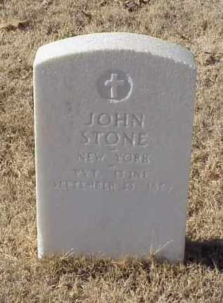STONE (VETERAN UNION), JOHN - Pulaski County, Arkansas | JOHN STONE (VETERAN UNION) - Arkansas Gravestone Photos