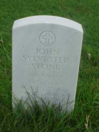 STONE (VETERAN WWI), JOHN SYLVESTER - Pulaski County, Arkansas | JOHN SYLVESTER STONE (VETERAN WWI) - Arkansas Gravestone Photos
