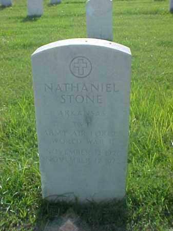 STONE (VETERAN WWII), NATHANIEL - Pulaski County, Arkansas | NATHANIEL STONE (VETERAN WWII) - Arkansas Gravestone Photos