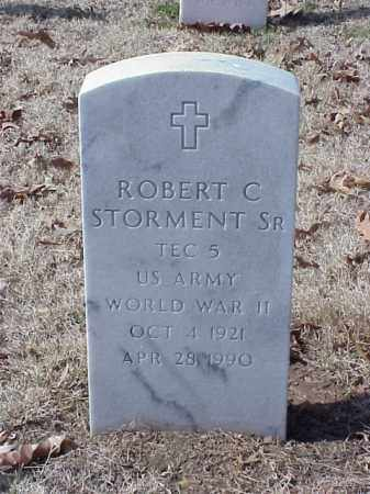 STORMENT, SR (VETERAN WWII), ROBERT C - Pulaski County, Arkansas | ROBERT C STORMENT, SR (VETERAN WWII) - Arkansas Gravestone Photos