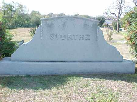 STORTHZ FAMILY STONE,  - Pulaski County, Arkansas |  STORTHZ FAMILY STONE - Arkansas Gravestone Photos