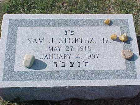 STORTHZ, JR, SAM J - Pulaski County, Arkansas | SAM J STORTHZ, JR - Arkansas Gravestone Photos