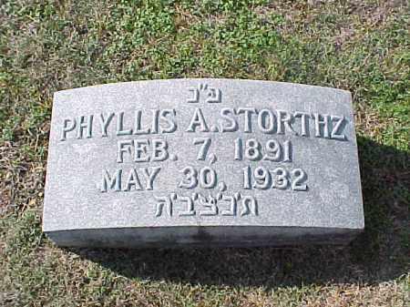 STORTHZ, PHYLLIS A - Pulaski County, Arkansas | PHYLLIS A STORTHZ - Arkansas Gravestone Photos