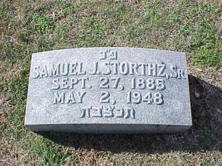 STORTHZ, SR, SAMUEL J - Pulaski County, Arkansas | SAMUEL J STORTHZ, SR - Arkansas Gravestone Photos