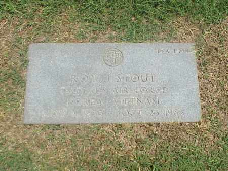 STOUT (VETERAN 2 WARS), ROY J - Pulaski County, Arkansas | ROY J STOUT (VETERAN 2 WARS) - Arkansas Gravestone Photos
