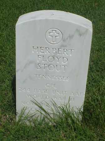 STOUT (VETERAN WWII), HERBERT FLOYD - Pulaski County, Arkansas | HERBERT FLOYD STOUT (VETERAN WWII) - Arkansas Gravestone Photos