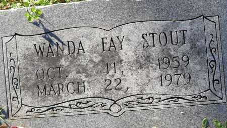 STOUT, WANDA FAY - Pulaski County, Arkansas | WANDA FAY STOUT - Arkansas Gravestone Photos