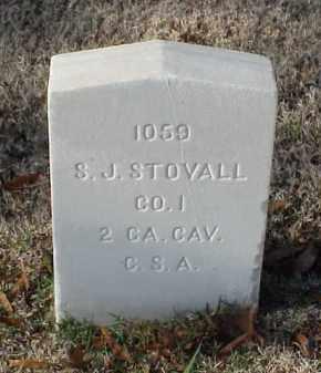 STOVALL (VETERAN CSA), S J - Pulaski County, Arkansas | S J STOVALL (VETERAN CSA) - Arkansas Gravestone Photos