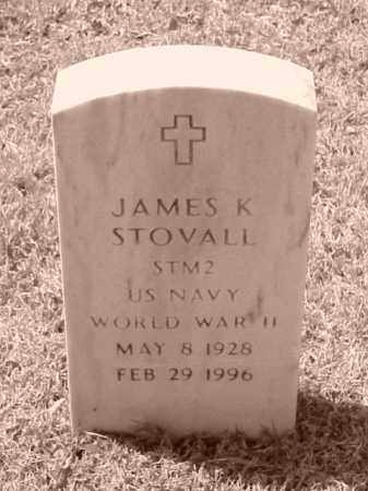 STOVALL (VETERAN WWII), JAMES K - Pulaski County, Arkansas | JAMES K STOVALL (VETERAN WWII) - Arkansas Gravestone Photos