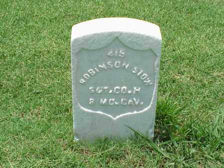 STOW (VETERAN UNION), ROBINSON - Pulaski County, Arkansas | ROBINSON STOW (VETERAN UNION) - Arkansas Gravestone Photos