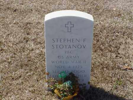 STOYANOV (VETERAN WWII), STEPHEN F - Pulaski County, Arkansas | STEPHEN F STOYANOV (VETERAN WWII) - Arkansas Gravestone Photos