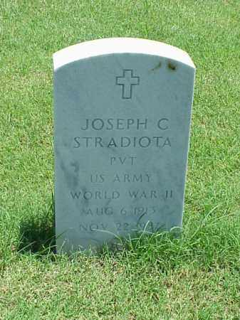 STRADIOTA (VETERAN WWII), JOSEPH C - Pulaski County, Arkansas | JOSEPH C STRADIOTA (VETERAN WWII) - Arkansas Gravestone Photos